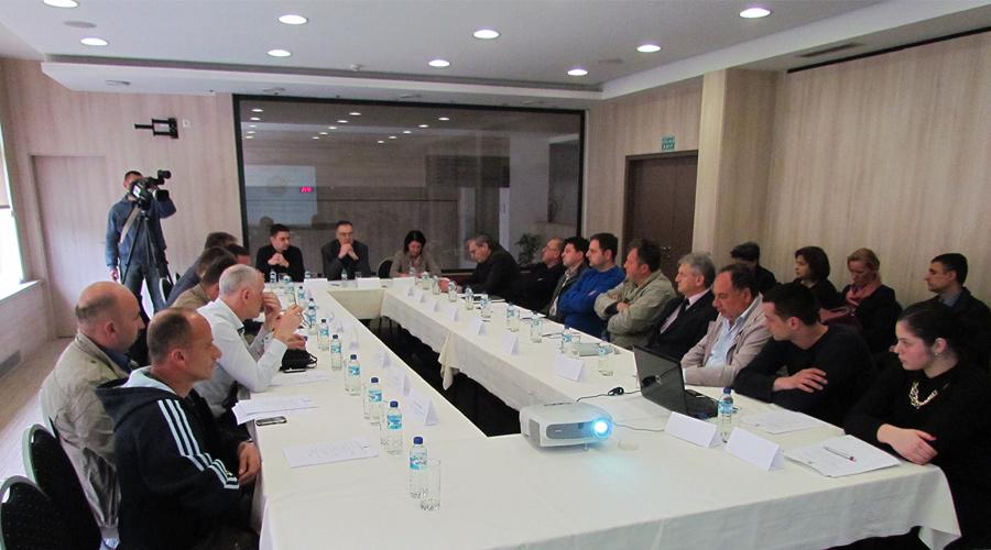 Slika sa prvog sastanka Privrednog savjeta opštine Teslić